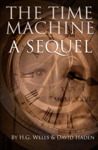 Book cover: sequel to The Time Machine