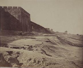 Felice Beato, the Walls of Peking