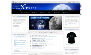 Google Lunar X Prize site