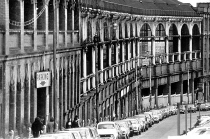 old Snow Hill Station in 1976