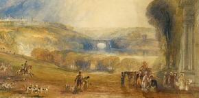 Turner, Blenheim Park, Oxfordshire 1832
